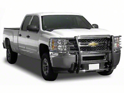 Black Horse Off Road Grille Guard - Stainless Steel (07-13 Silverado 1500)