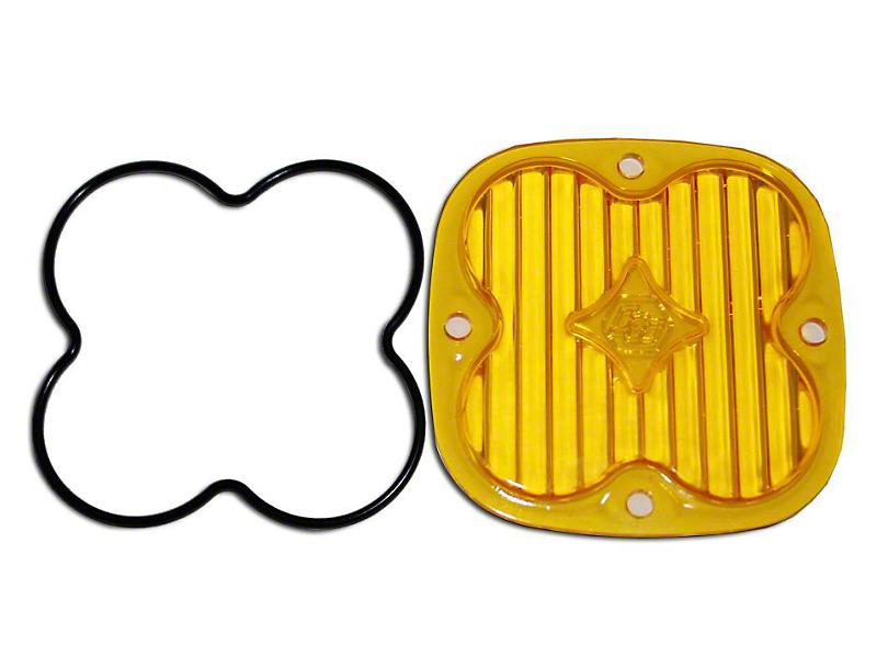 Baja Designs Squadron Series Amber Lens Kit - Wide Cornering Beam