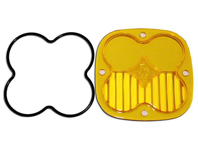 Baja Designs Squadron Series Amber Lens Kit - Driving/Combo Beam