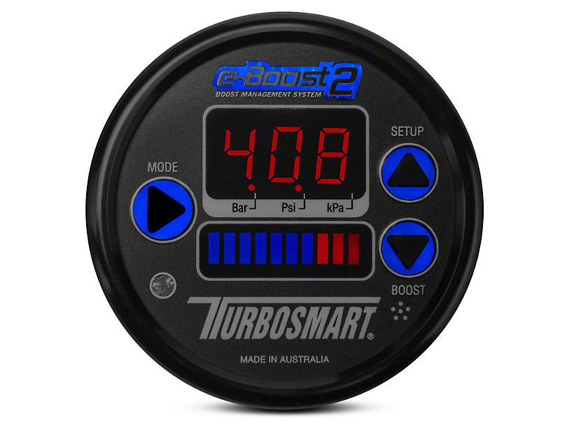 Turbosmart e-Boost2 Boost Controller - 60mm - Black (Universal Fitment)