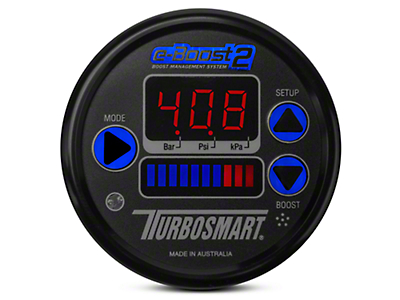 Turbosmart e-Boost2 Boost Controller - 60mm - Black (07-18 Silverado 1500)