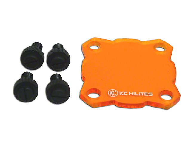 KC HiLiTES Amber Light Shield for KC Flex (07-19 Silverado 1500)