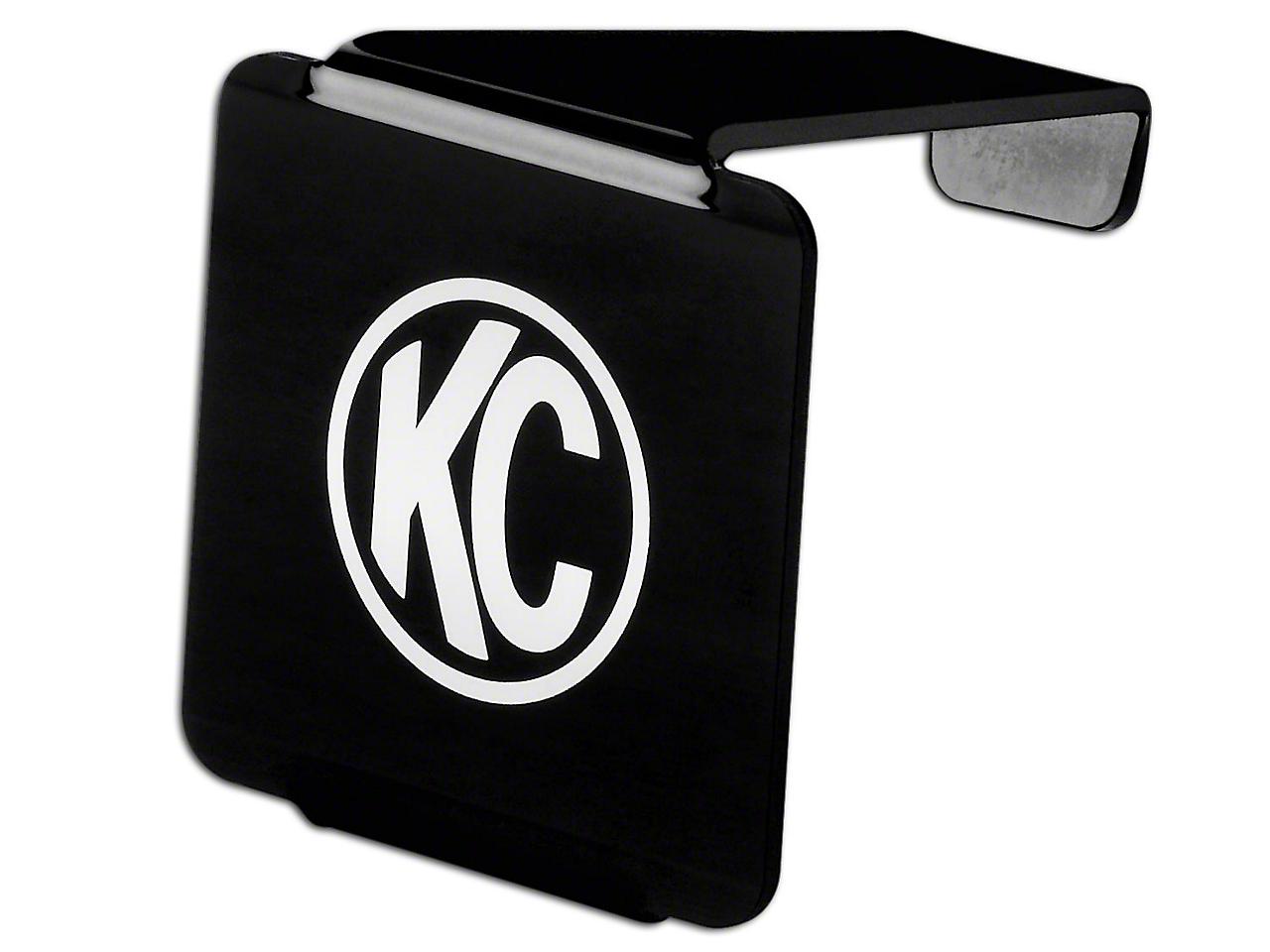 KC HiLiTES Hard Cover for 3 in. LZR Cube Light - Black (07-18 Silverado 1500)