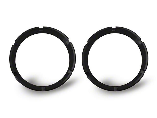 KC HiLiTES Black Bezel Ring for Flex LED