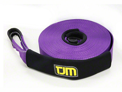 TJM 2.5 in. x 66 ft. Recovery Strap - 13,200 lbs.