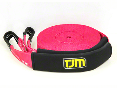 TJM 2.5 in. x 66 ft. Recovery Strap - 8,800 lbs.