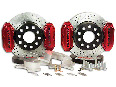 Baer AlumaSport Front Brake Kit - Red (07-18 Silverado 1500)