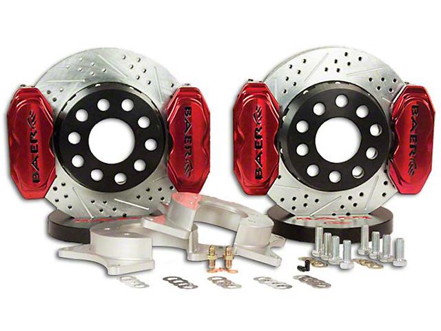 Baer AlumaSport Plus Front Brake Kit - Red (07-18 Silverado 1500)