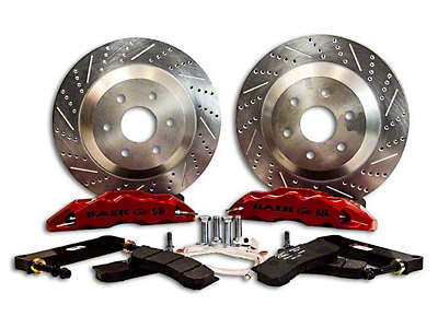 Baer Extreme Front Brake Kit - Red (07-18 Silverado 1500)