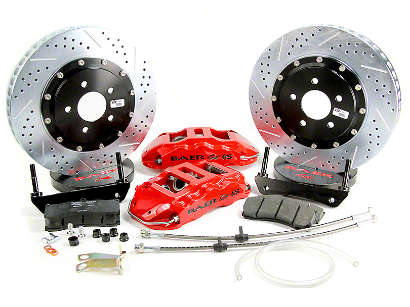 Baer Extreme Plus Rear Brake Kit - Black (07-18 Silverado 1500)