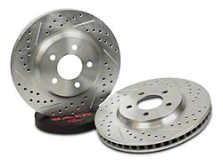 Baer Sport Drilled & Slotted Rotors - Rear Pair (07-18 Silverado 1500)