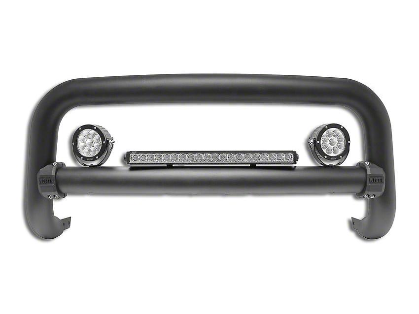 Westin Contour 3.5 in. Bull Bar - Textured Black (16-18 Silverado 1500)