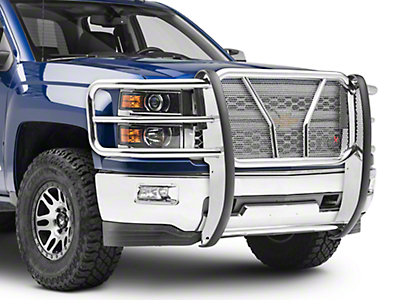 Westin HDX Grille Guard - Stainless Steel (14-15 Silverado 1500)