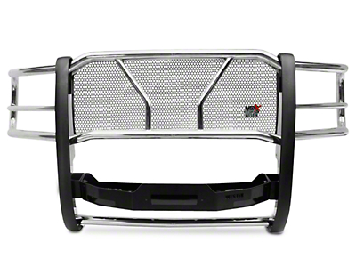 Westin HDX Winch Mount Grille Guard - Stainless Steel (07-13 Silverado 1500)