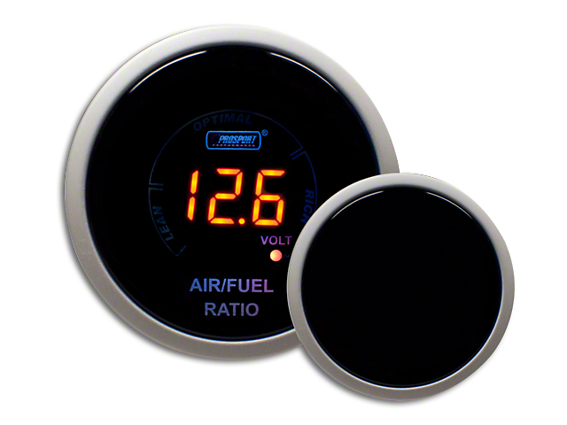 Prosport Digital Air Fuel Ratio & Volt Gauge - Electrical - Amber (99-19 Silverado 1500)