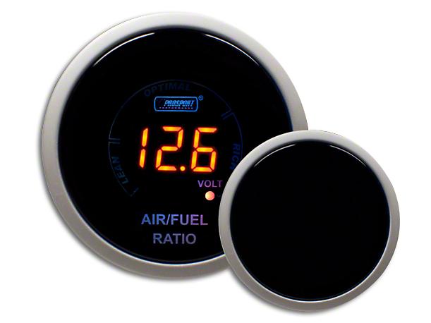 Prosport Digital Air Fuel Ratio & Volt Gauge - Electrical - Amber (99-18 Silverado 1500)