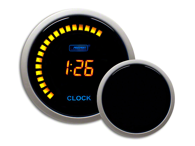 Prosport Digital Clock - Amber (Universal Fitment)