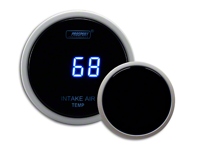 Prosport Digital Intake Temperature Gauge - Electrical - Blue (99-18 Silverado 1500)