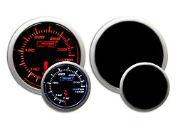 Prosport 52mm Performance Series Water Temperature Gauge; Electrical; Amber/White (Universal; Some Adaptation May Be Required)