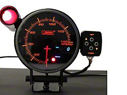 Prosport 95mm Electronic Speedometer; 0-140 MPH (Universal; Some Adaptation May Be Required)