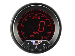 Prosport 80mm Premium EVO Series Speedometer; 85mm (Universal; Some Adaptation May Be Required)