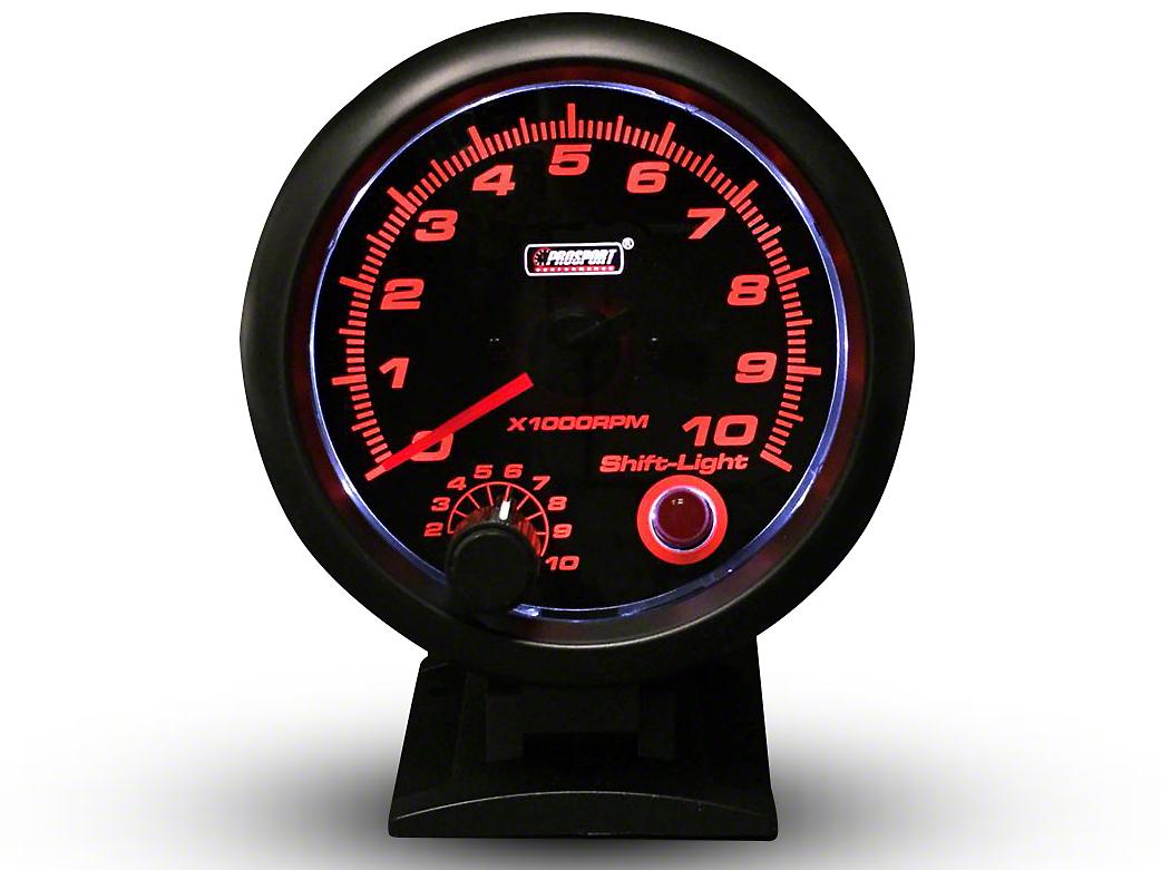 Prosport Performance Tachometer w/Shift Light - 3-3/4 in. (07-18 Silverado 1500)