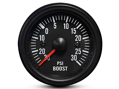 Prosport White LED Boost Gauge - Electrical (07-18 Silverado 1500)