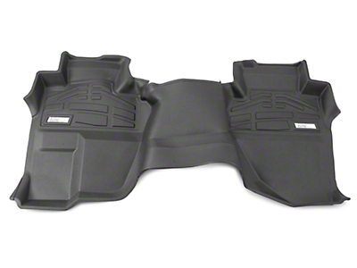 Wade Sure-Fit 2nd Row Floor Liner - Black (14-18 Silverado 1500 Double Cab, Crew Cab/)