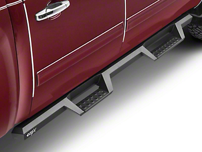 Westin HDX Drop Nerf Step Bars - Textured Black (07-18 Silverado 1500 Crew Cab)