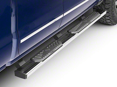 Westin R5 Nerf Side Step Bars - Stainless Steel (14-18 Silverado 1500 Double Cab, Crew Cab)
