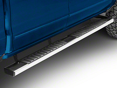 Westin R7 Nerf Side Step Bars - Stainless Steel (14-18 Silverado 1500 Double Cab, Crew Cab)