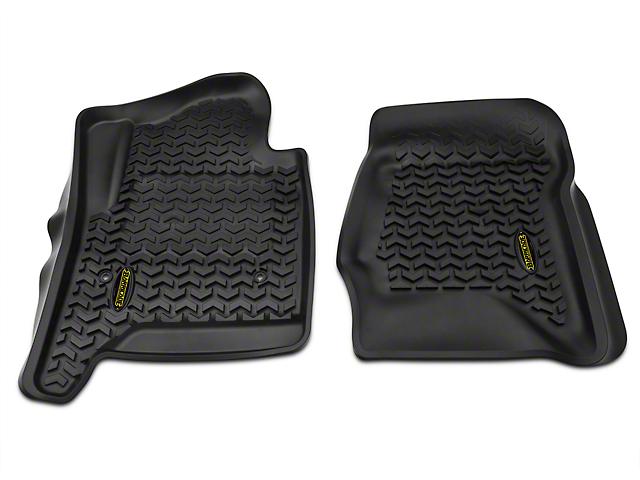 Barricade Front Floor Mats - Black (14-18 Silverado 1500)
