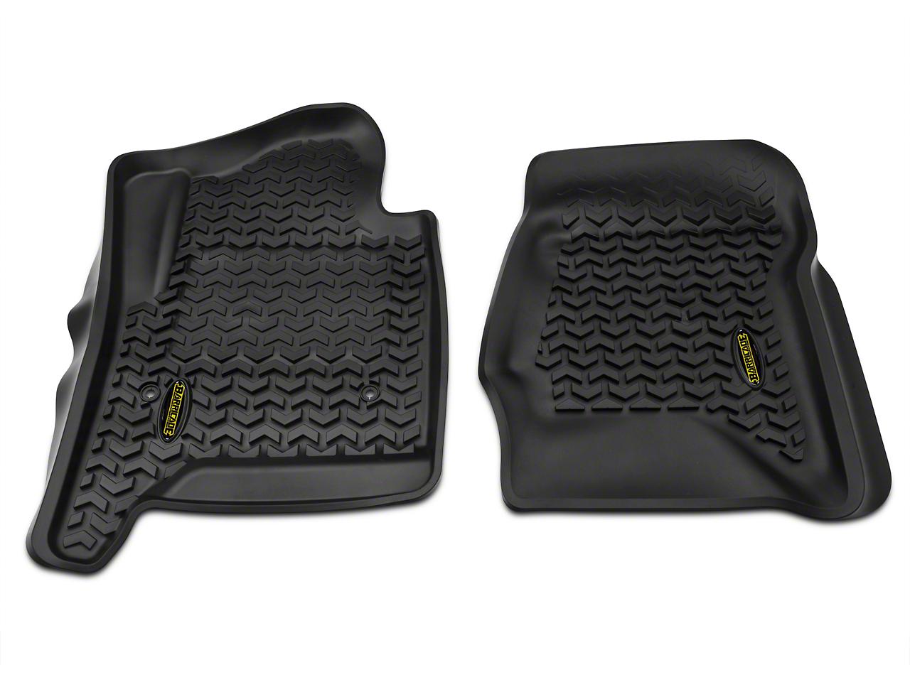 Barricade Front Floor Liners - Black (14-18 Silverado 1500)