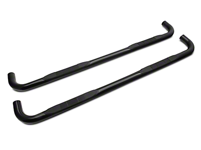 Steel Craft 3 in. Blackout Series Side Step Bars - Body Mount (99-13 Silverado 1500 Regular Cab, Crew Cab)