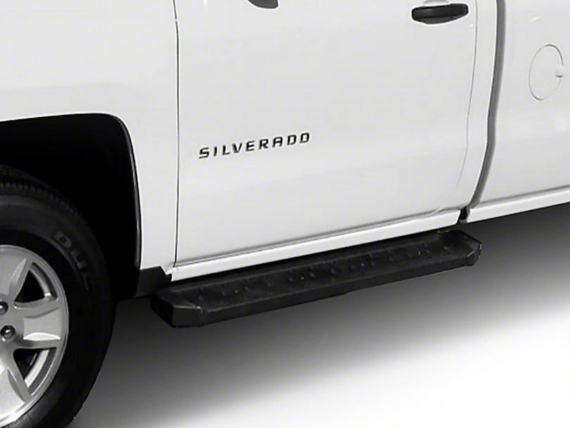 Steel Craft STX600 Utility Running Boards - Black (14-18 Silverado 1500)