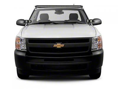 ZRoadz Front Roof 50 in. LED Light Bar Mounting Brackets (07-13 Silverado 1500)