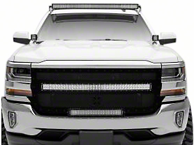 ZRoadz 50 in. LED Light Bar Front Roof Mounting Brackets (07-13 Silverado 1500)