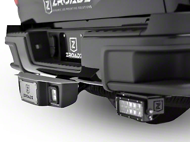 ZRoadz 2 in. Receiver Hitch Step for 3 in. LED Cube Lights (99-18 Silverado 1500)