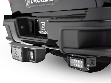 ZRoadz 2 in. Receiver Hitch Step w/ 3 in. LED Cube Lights (99-18 Silverado 1500)