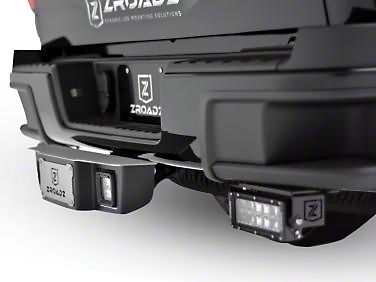 ZRoadz 2.5 in. Receiver Hitch Step for 3 in. LED Cube Lights (99-18 Silverado 1500)