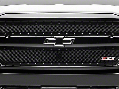 T-REX X-Metal Series Upper Grille Inserts - Black (16-18 Silverado 1500 w/ Z71 Package)