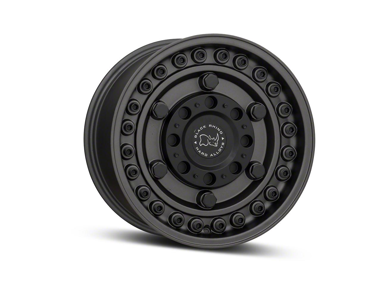 Black Rhino Armory Gunblack 6-Lug Wheel - 17x9.5 (07-18 Silverado 1500)