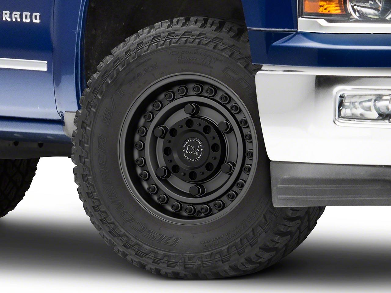 Black Rhino Armory Gunblack 6-Lug Wheel - 18x9.5 (99-18 Silverado 1500)