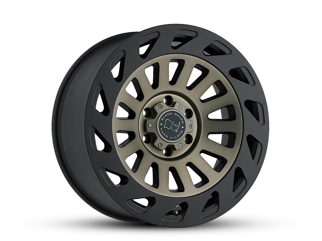 Black Rhino Madness Dark Tint Machined 6-Lug Wheel - 20x9 (07-18 Silverado 1500)