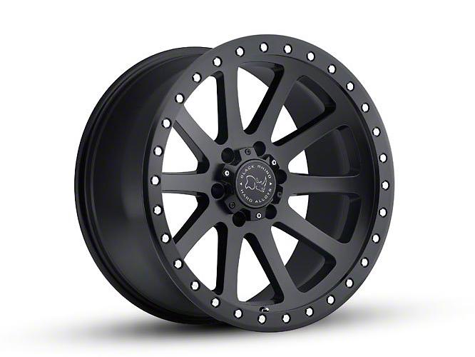 Black Rhino Mint Matte Black 6-Lug Wheel - 18x9 (99-18 Silverado 1500)