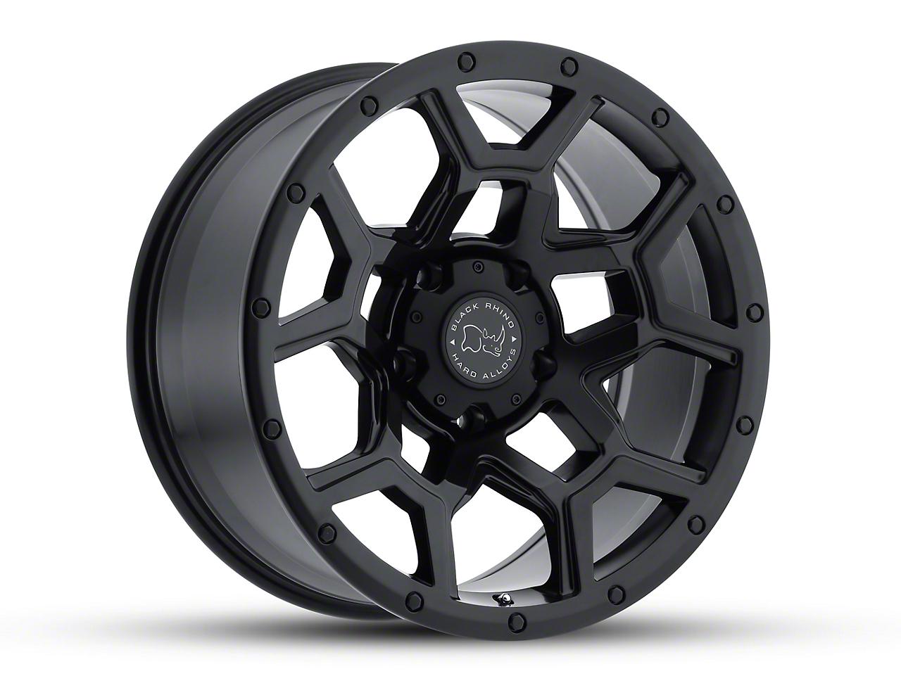 Black Rhino Overland Matte Black 6-Lug Wheel - 17x9.5 (99-18 Silverado 1500)