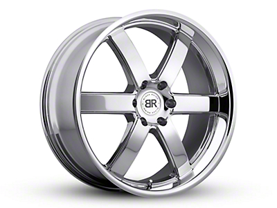 Black Rhino Pondora Chrome 6-Lug Wheel - 22x9.5 (99-18 Silverado 1500)