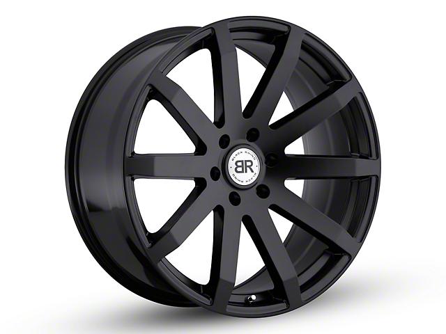 Black Rhino Traverse Matte Black 6-Lug Wheel - 22x9.5 +25mm Offset (99-19 Silverado 1500)