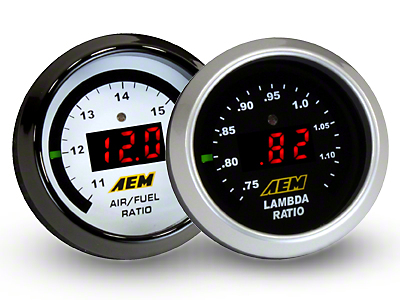 AEM Electronics Digital Wideband UEGO Air Fuel Ratio Gauge (99-18 Silverado 1500)