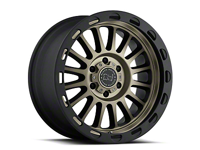 Black Rhino Taupo Matte Black Machined 6-Lug Wheel - 17x9 (99-18 Silverado 1500)